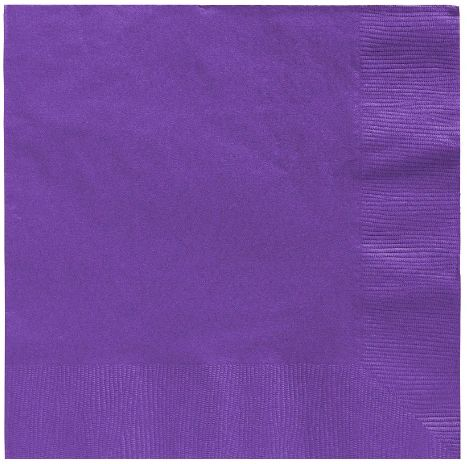 Big Party Pack New Purple Luncheon Napkins, 125ct