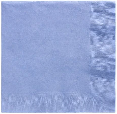 Big Party Pack Pastel Blue Luncheon Napkins, 125ct
