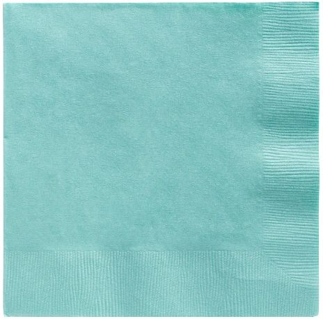 Big Party Pack Robin's Egg Blue Luncheon Napkins, 125ct