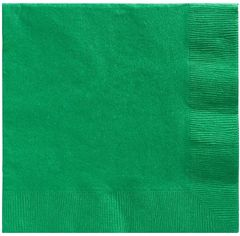 Big Party Pack Festive Green Luncheon Napkins, 125ct