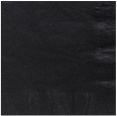Big Party Pack Black Luncheon Napkins, 125ct