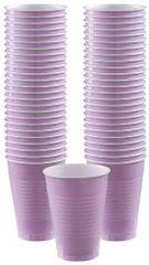 Big Party Pack Lavender Plastic Cups, 12oz - 50ct