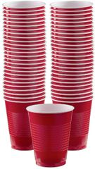 Big Party Pack Red Plastic Cups, 16 oz - 50ct