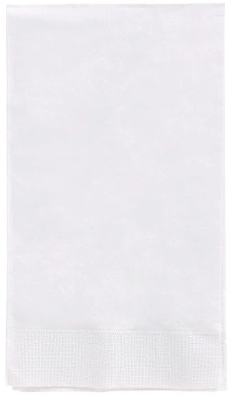White 3-Ply Guest Towels, 16ct