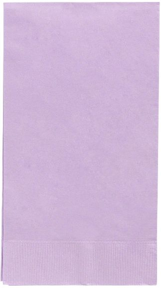 Lavender 3-Ply Guest Towels, 16ct