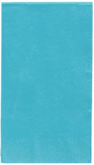 Caribbean Blue 3-Ply Guest Towels, 16ct