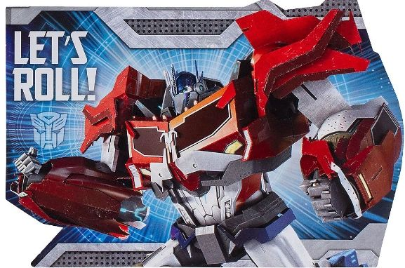Transformers™ Postcard Invitations, 8ct