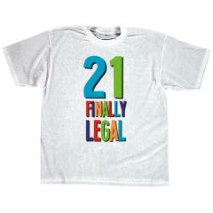 21st Brilliant Birthday T-Shirt