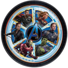 "Avengers Endgame™ Lunch Plates, 9"" - 8ct"