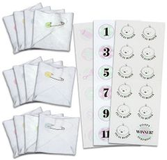 Baby Shower Diaper Game Kit