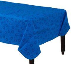 Hanukkah Flannel-Backed Vinyl Table Cover