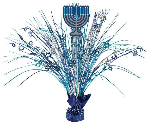 Hanukkah Spray Centerpiece