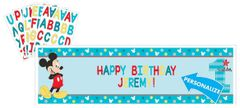©Disney Mickey's Fun To Be One Personalized Giant Banner Kit