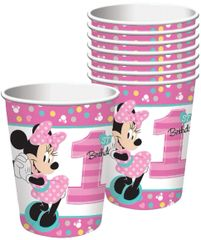 ©Disney Minnie's Fun To Be One Cups, 9 oz - 8ct