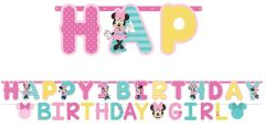 ©Disney Minnie's Fun To Be One Jumbo Letter Banner Kit