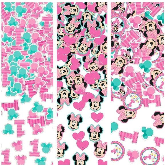 ©Disney Minnie's Fun To Be One Value Pack Confetti