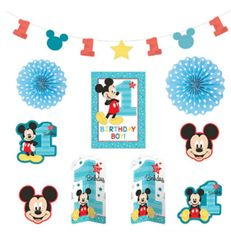 ©Disney Mickey's Fun To Be One Room Decorating Kit, 10pc