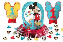 ©Disney Mickey's Fun To Be One Table Decorating Kit, 23pc