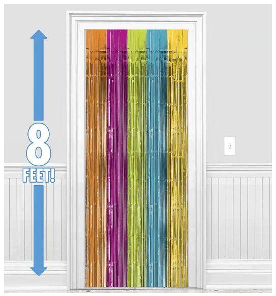 Multi Metallic Curtain