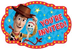 ©Disney/Pixar Toy Story 4 Postcard Invitations, 8ct
