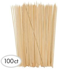 "Bamboo Skewers, 12"" - 100ct"