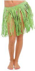 Adult Green Mini Hula Skirt