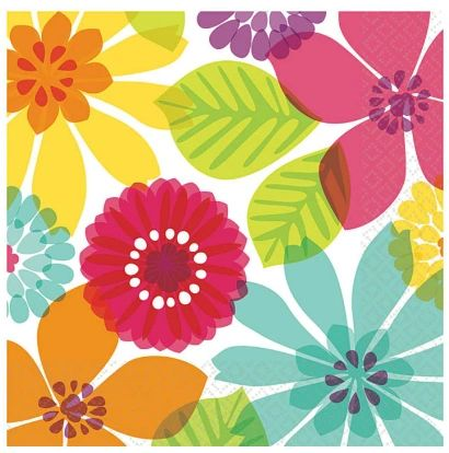 Day in Paradise Beverage Napkins, 16ct