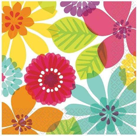 Day in Paradise Luncheon Napkins, 16ct