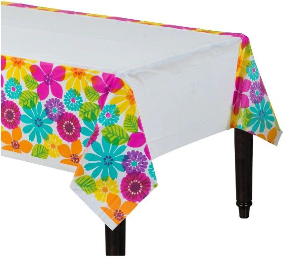 Day in Paradise Plastic Table Cover