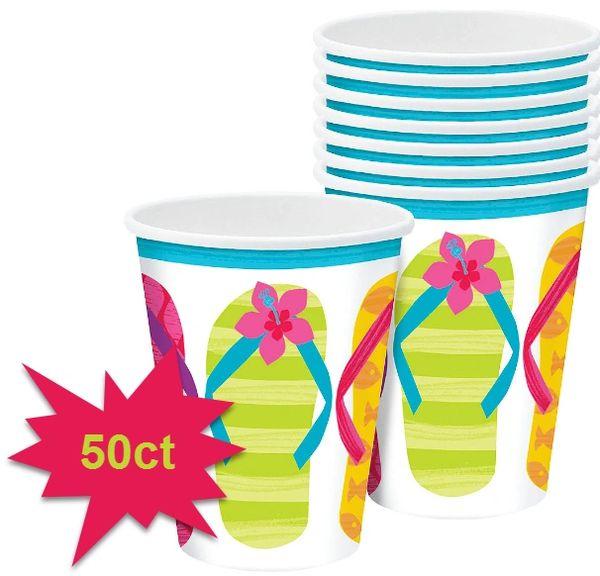 Flip Side Cups, 9oz - 50ct