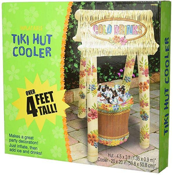 Inflatable Tiki Hut Cooler