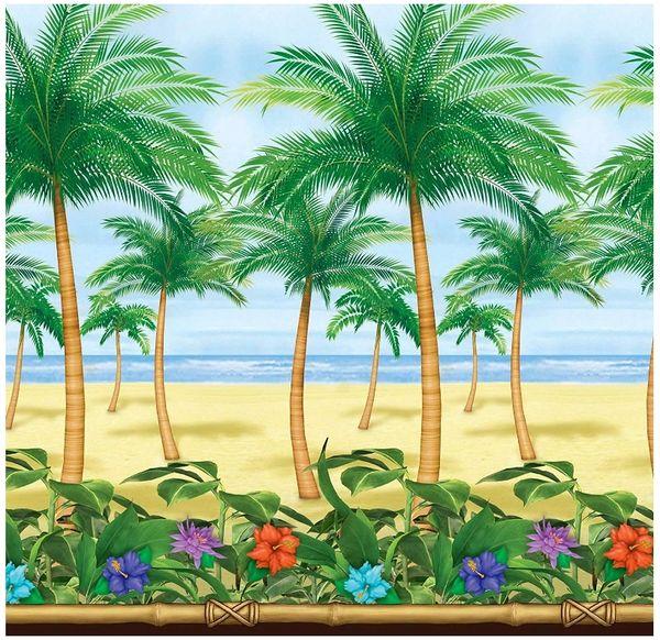Palm Tree Scene Setters® Room Roll