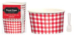 Picnic Party Paper Treat Cups, 8ct