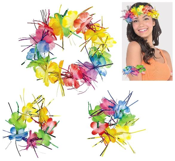 Rainbow Tinsel Accessory Pack, 3pc