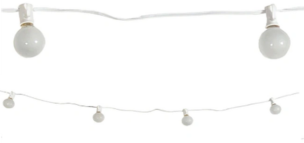 Clear Globe String Lights, 15ft