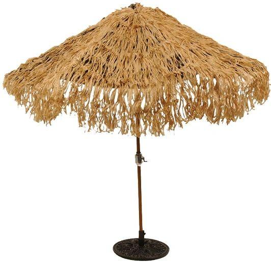 Hawaiian Thatch Umbrella Cover