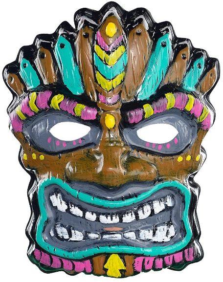 Tiki Plastic Mask