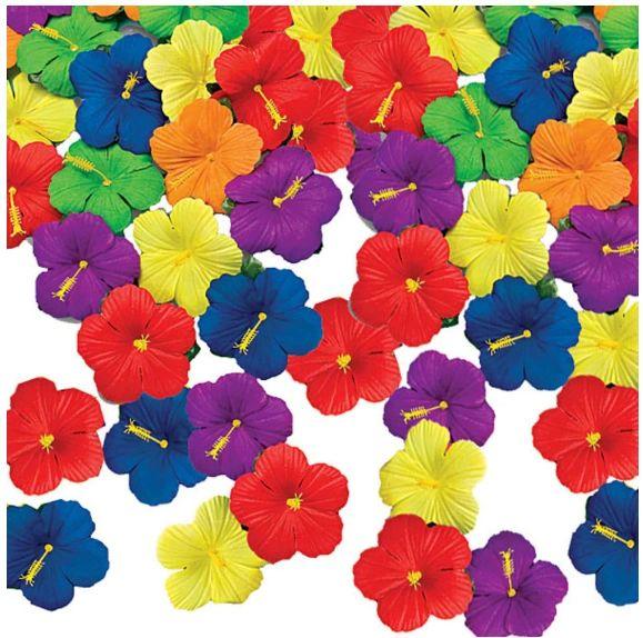 Tropical Flower Table Sprinkles, 24ct