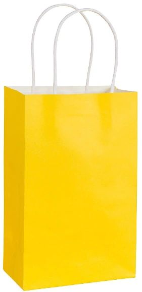 Solid Kraft - Yellow Sunshine Small Bag