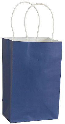 Solid Kraft - Bright Royal Blue Small Bag