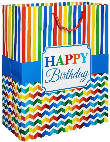Large Gift Bag - Bright Birthday