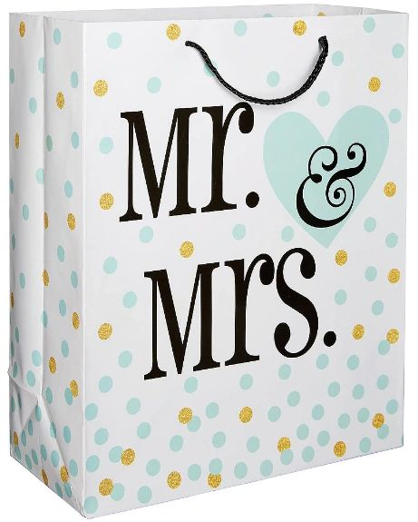 Mr & Mrs Wedding Gift Bag