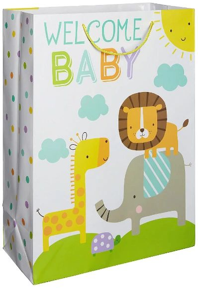 Jungle Baby Shower Gift Bag