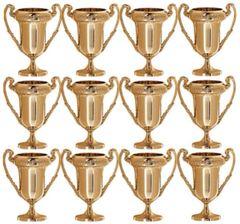 Mini Award Trophies, 12ct