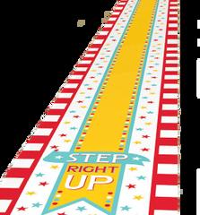Carnival Floor Runner, 10ft