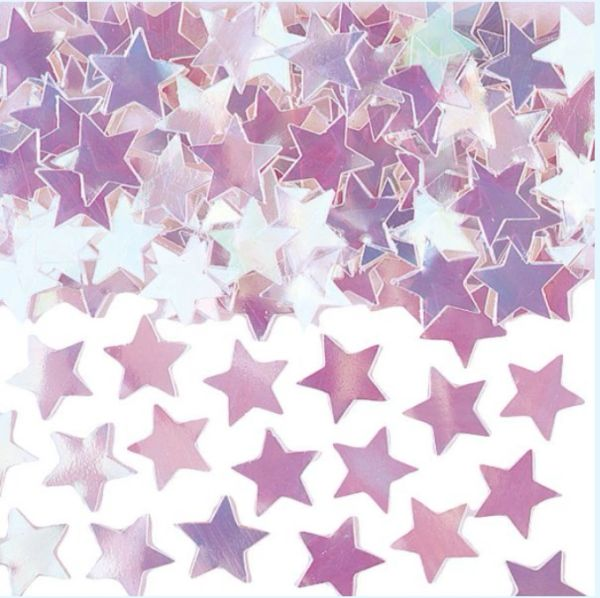 Mini Iridescent Star Confetti
