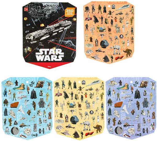 Star Wars™ Classic Sticker Book, 350 Sticker