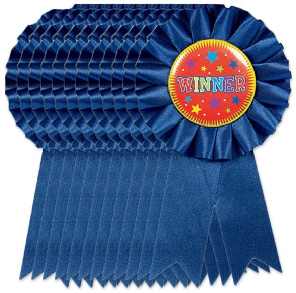 Winner Ribbons, 12ct
