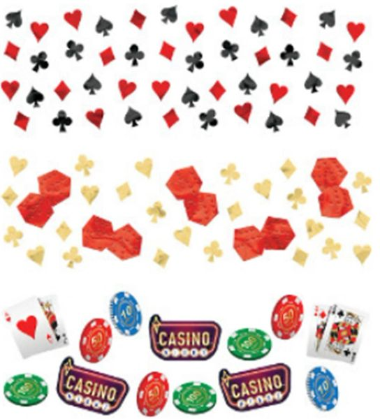 Casino Value Confetti