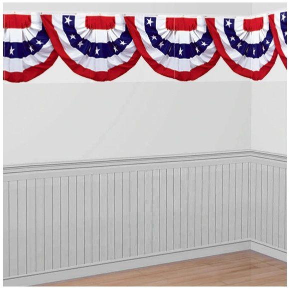 Scene Setters® Patriotic Bunting Border Roll